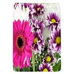 Purple White Flower Bouquet Flap Covers (S)