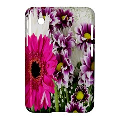 Purple White Flower Bouquet Samsung Galaxy Tab 2 (7 ) P3100 Hardshell Case