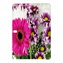 Purple White Flower Bouquet Samsung Galaxy Tab Pro 10 1 Hardshell Case