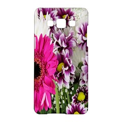Purple White Flower Bouquet Samsung Galaxy A5 Hardshell Case