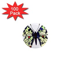 A Colorful Butterfly Image 1  Mini Magnets (100 Pack)