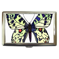A Colorful Butterfly Image Cigarette Money Cases