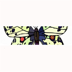A Colorful Butterfly Image Large Bar Mats
