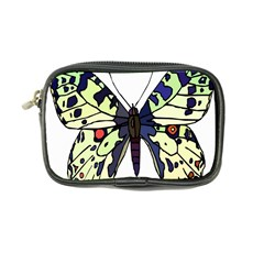 A Colorful Butterfly Image Coin Purse