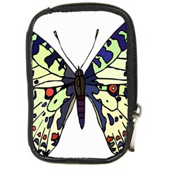 A Colorful Butterfly Image Compact Camera Cases