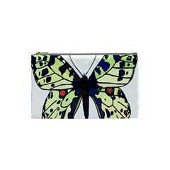 A Colorful Butterfly Image Cosmetic Bag (Small)