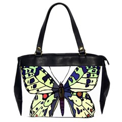 A Colorful Butterfly Image Office Handbags (2 Sides)
