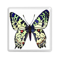 A Colorful Butterfly Image Memory Card Reader (square)