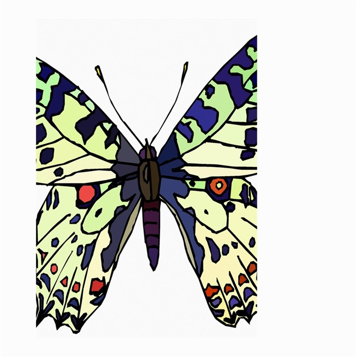 A Colorful Butterfly Image Small Garden Flag (Two Sides)