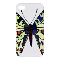 A Colorful Butterfly Image Apple iPhone 4/4S Premium Hardshell Case