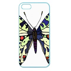 A Colorful Butterfly Image Apple Seamless Iphone 5 Case (color)