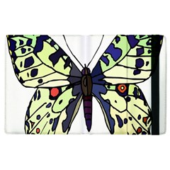 A Colorful Butterfly Image Apple iPad 2 Flip Case