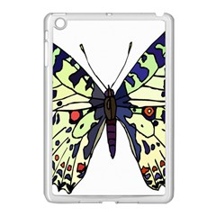 A Colorful Butterfly Image Apple iPad Mini Case (White)