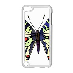 A Colorful Butterfly Image Apple iPod Touch 5 Case (White)