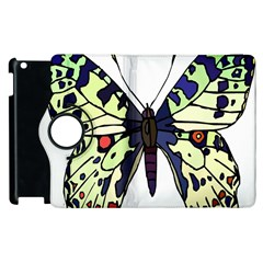 A Colorful Butterfly Image Apple iPad 3/4 Flip 360 Case