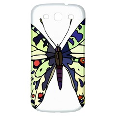 A Colorful Butterfly Image Samsung Galaxy S3 S III Classic Hardshell Back Case