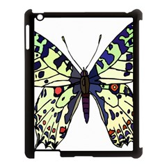 A Colorful Butterfly Image Apple iPad 3/4 Case (Black)