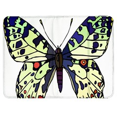 A Colorful Butterfly Image Samsung Galaxy Tab 7  P1000 Flip Case