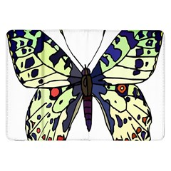 A Colorful Butterfly Image Samsung Galaxy Tab 8.9  P7300 Flip Case