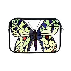 A Colorful Butterfly Image Apple Ipad Mini Zipper Cases