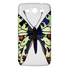 A Colorful Butterfly Image Samsung Galaxy Mega 5 8 I9152 Hardshell Case