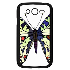 A Colorful Butterfly Image Samsung Galaxy Grand DUOS I9082 Case (Black)
