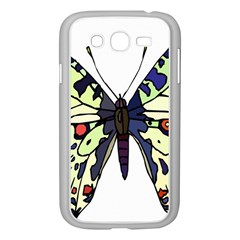 A Colorful Butterfly Image Samsung Galaxy Grand DUOS I9082 Case (White)