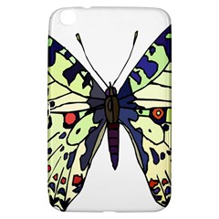 A Colorful Butterfly Image Samsung Galaxy Tab 3 (8 ) T3100 Hardshell Case