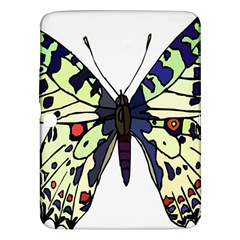 A Colorful Butterfly Image Samsung Galaxy Tab 3 (10.1 ) P5200 Hardshell Case