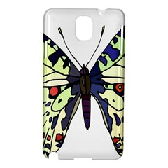 A Colorful Butterfly Image Samsung Galaxy Note 3 N9005 Hardshell Case