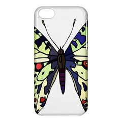 A Colorful Butterfly Image Apple iPhone 5C Hardshell Case