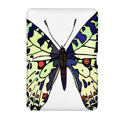 A Colorful Butterfly Image Samsung Galaxy Tab 2 (10 1 ) P5100 Hardshell Case