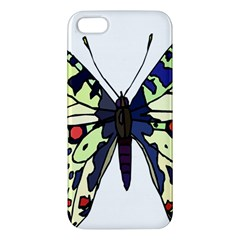A Colorful Butterfly Image Iphone 5s/ Se Premium Hardshell Case