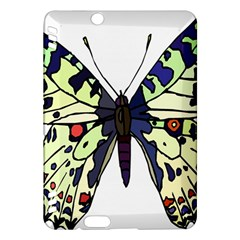 A Colorful Butterfly Image Kindle Fire HDX Hardshell Case