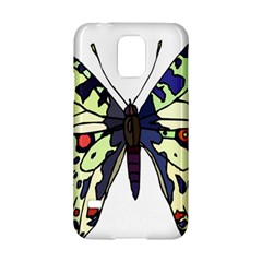 A Colorful Butterfly Image Samsung Galaxy S5 Hardshell Case