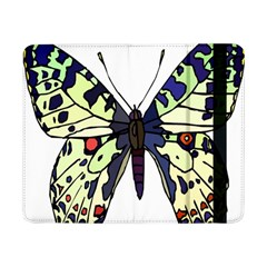 A Colorful Butterfly Image Samsung Galaxy Tab Pro 8 4  Flip Case