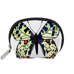 A Colorful Butterfly Image Accessory Pouches (Small)