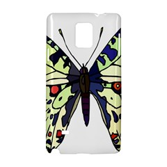 A Colorful Butterfly Image Samsung Galaxy Note 4 Hardshell Case