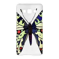 A Colorful Butterfly Image Samsung Galaxy A5 Hardshell Case