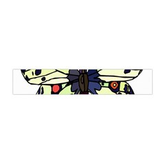 A Colorful Butterfly Image Flano Scarf (Mini)