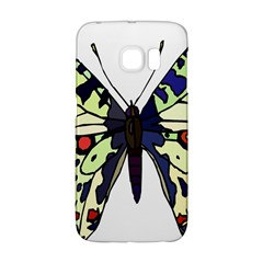 A Colorful Butterfly Image Galaxy S6 Edge