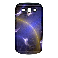 Fractal Magic Flames In 3d Glass Frame Samsung Galaxy S III Classic Hardshell Case (PC+Silicone)