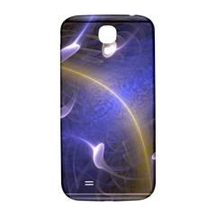 Fractal Magic Flames In 3d Glass Frame Samsung Galaxy S4 I9500/I9505  Hardshell Back Case