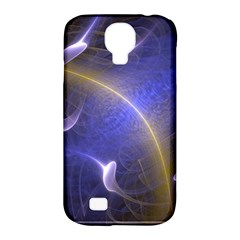 Fractal Magic Flames In 3d Glass Frame Samsung Galaxy S4 Classic Hardshell Case (PC+Silicone)
