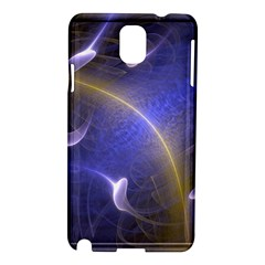 Fractal Magic Flames In 3d Glass Frame Samsung Galaxy Note 3 N9005 Hardshell Case