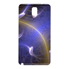 Fractal Magic Flames In 3d Glass Frame Samsung Galaxy Note 3 N9005 Hardshell Back Case