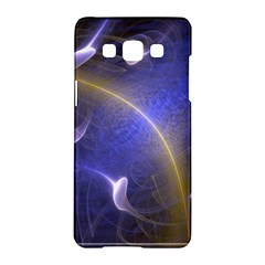 Fractal Magic Flames In 3d Glass Frame Samsung Galaxy A5 Hardshell Case