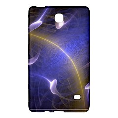 Fractal Magic Flames In 3d Glass Frame Samsung Galaxy Tab 4 (8 ) Hardshell Case
