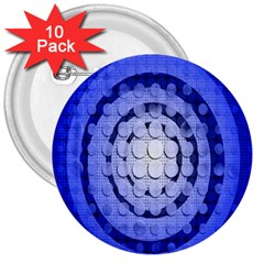 Abstract Background Blue Created With Layers 3  Buttons (10 Pack)