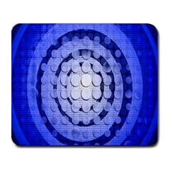 Abstract Background Blue Created With Layers Large Mousepads